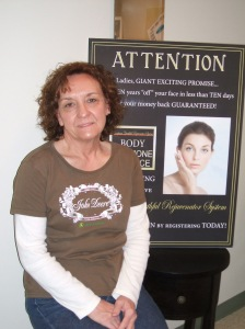 Peggy Alexander - March and April Winner of Exclusive Beauty Rejuvinator System